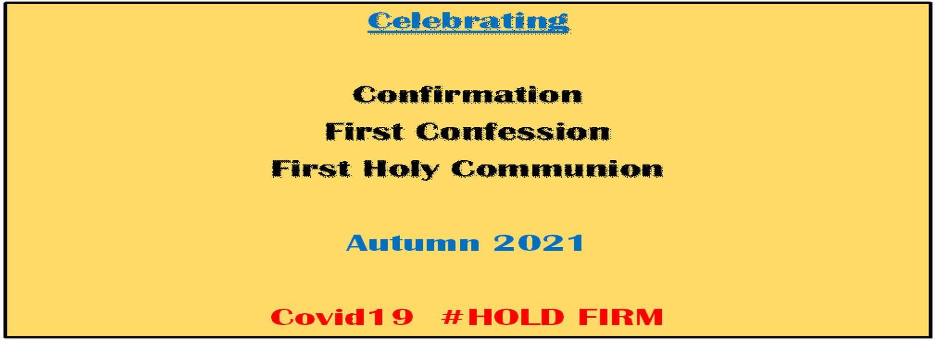 Celebrating Sacraments Autumn 2021