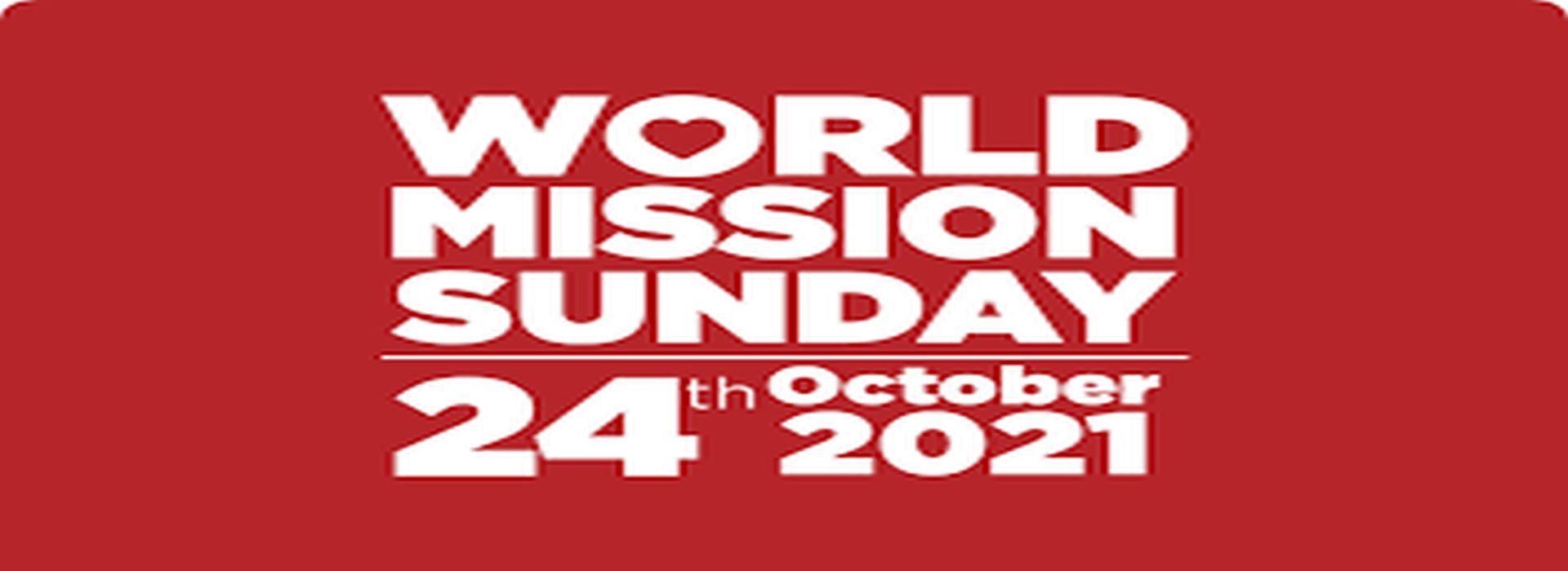 Oct 24th Mission Sunday